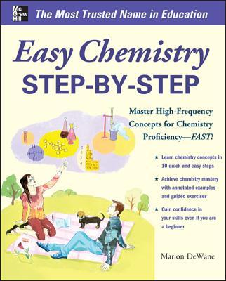 Easy Chemistry Step-by-Step By Dewane, Marian